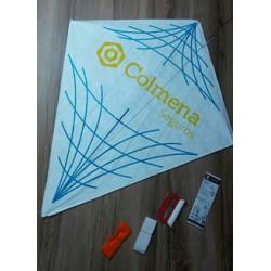 Cometa Rombo 40 Confeccionada Material Tyvek