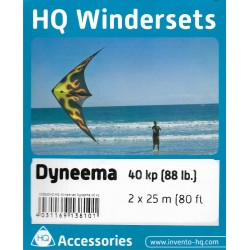 Winderset Dyneema 88lb x 80Ft (25 mt)