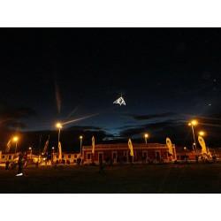 Show cometas nocturnas