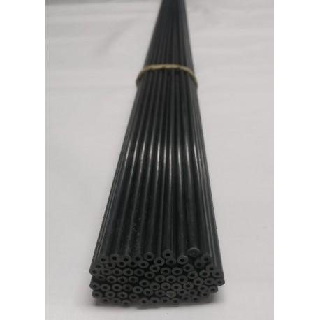 Tubo carbono liso 4mm pared gruesa